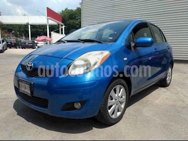 Foto venta Auto usado Toyota Yaris 5P 1.5L Premium (2008) color Azul precio $85,000