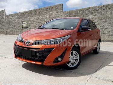 Toyota Yaris 5P 1.5L S Aut usado (2018) color Naranja precio $208,000