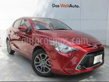 Toyota Yaris 5P 1.5L S Aut usado (2019) color Rojo precio $249,000