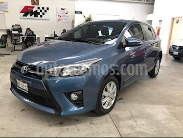 Foto venta Auto usado Toyota Yaris 5P 1.5L S Aut (2017) color Azul precio $205,000