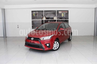 Foto venta Auto usado Toyota Yaris 5P 1.5L S (2017) color Rojo precio $220,000