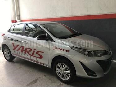 Foto venta Auto usado Toyota Yaris 5p Hatchback S L4/1.5 Aut (2019) color Plata precio $260,000