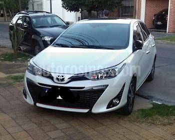 Toyota Yaris 1.5 S CVT usado (2018) color Blanco Perla precio $1.160.000