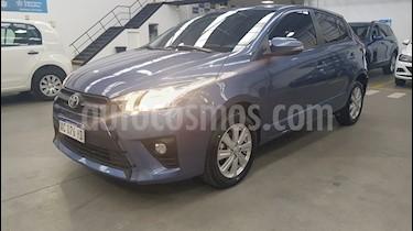 Toyota Yaris 1.5 S usado (2017) color Azul Medianoche precio $780.000