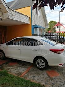Toyota Yaris 1.5 GLi  usado (2018) color Blanco precio $7.800.000