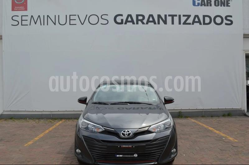 Foto Toyota Yaris 5P 1.5L S usado (2018) color Gris precio $204,900