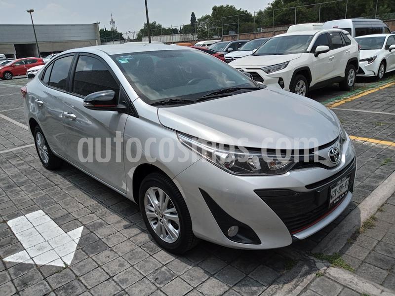Toyota Yaris 5P 1.5L S usado (2019) color Plata precio $240,000