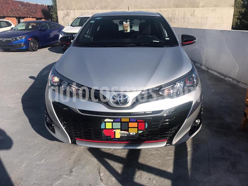 Toyota Yaris 5P 1.5L S usado (2019) color Plata precio $220,000