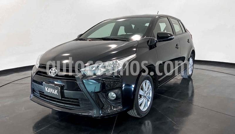 Toyota Yaris LE Aut usado (2017) color Negro precio $212,999