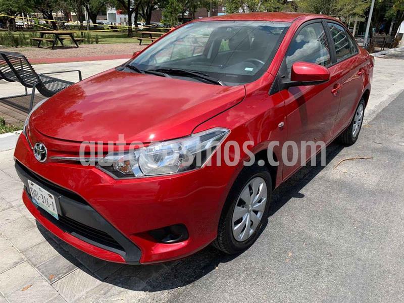 Toyota Yaris Core Aut usado (2017) color Rojo precio $219,900