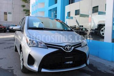 Toyota Yaris 5P 1.5L Core Aut usado (2016) color Gris precio $169,000
