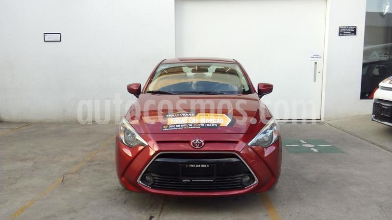Toyota Yaris 5P 1.5L S usado (2016) color Rojo precio $208,000