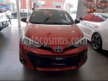 Foto Toyota Yaris 5P 1.5L S Aut usado (2018) color Rojo precio $214,000