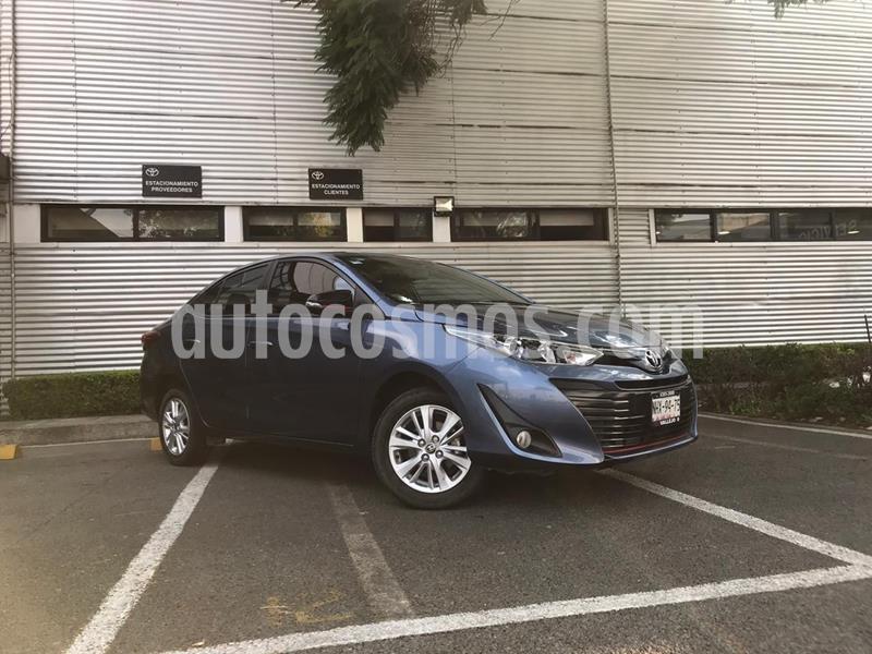 Toyota Yaris 5P 1.5L S usado (2019) color Azul precio $258,000