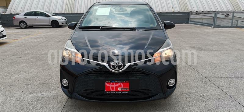 Toyota Yaris 5P 1.5L Premium usado (2016) color Negro precio $175,000