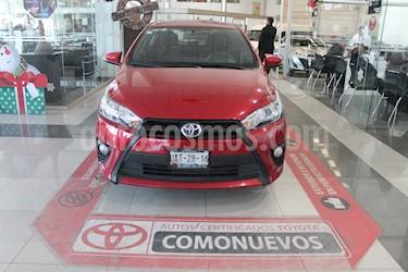 Foto Toyota Yaris 5P 1.5L S Aut usado (2017) color Rojo precio $215,000