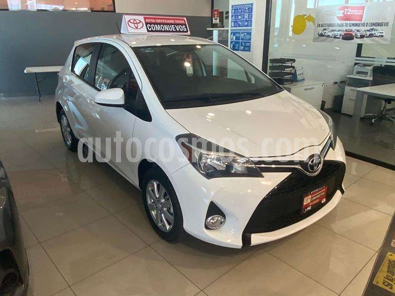 Toyota Yaris 5P 1.5L Premium Aut usado (2016) color Blanco precio $187,000
