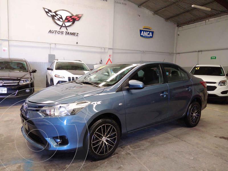 Toyota Yaris Core Aut usado (2017) color Azul precio $164,900