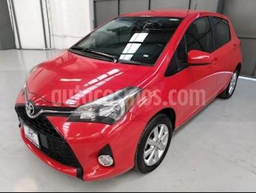 Toyota Yaris 5P HATCHBACK PREMIUM L4/1.5 MAN usado (2015) color Rojo precio $160,000