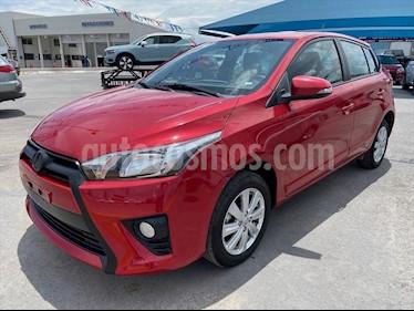 Toyota Yaris S MT usado (2017) color Rojo precio $169,000