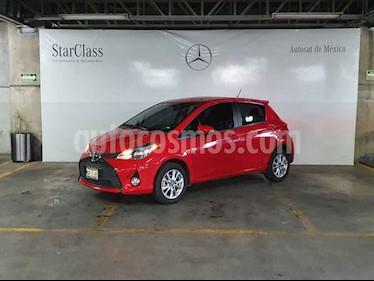 Toyota Yaris 5P 1.5L Premium Aut usado (2016) color Rojo precio $189,000