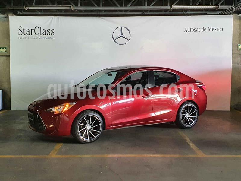 Toyota Yaris XLE Aut usado (2017) color Rojo precio $199,000