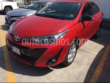 Toyota Yaris 5P 1.5L Premium usado (2019) color Rojo precio $224,000