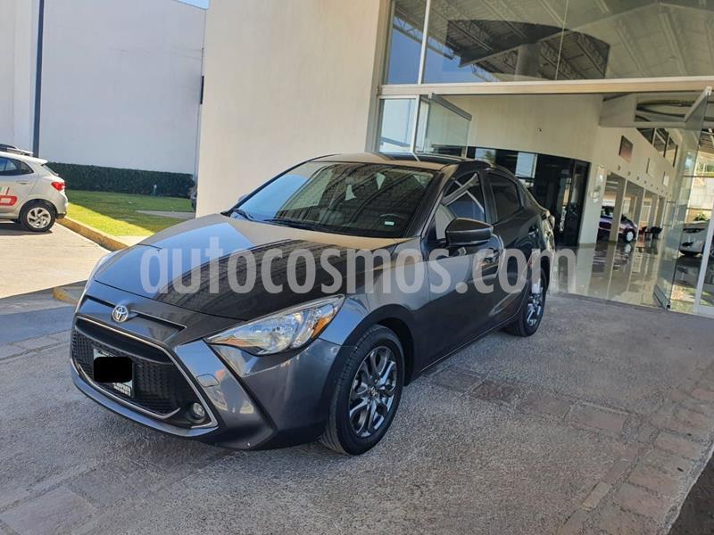 Toyota Yaris 5P 1.5L S usado (2019) color Gris Oscuro precio $259,000