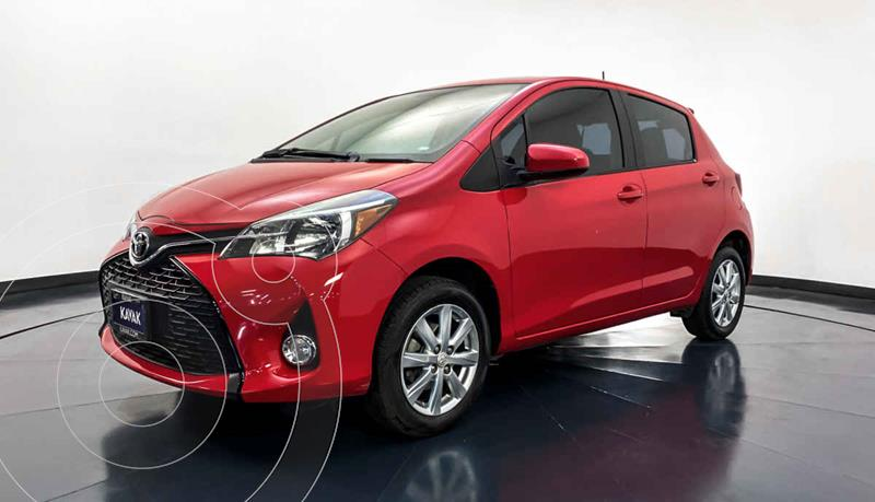 Toyota Yaris 5P 1.5L Premium usado (2015) color Rojo precio $149,999