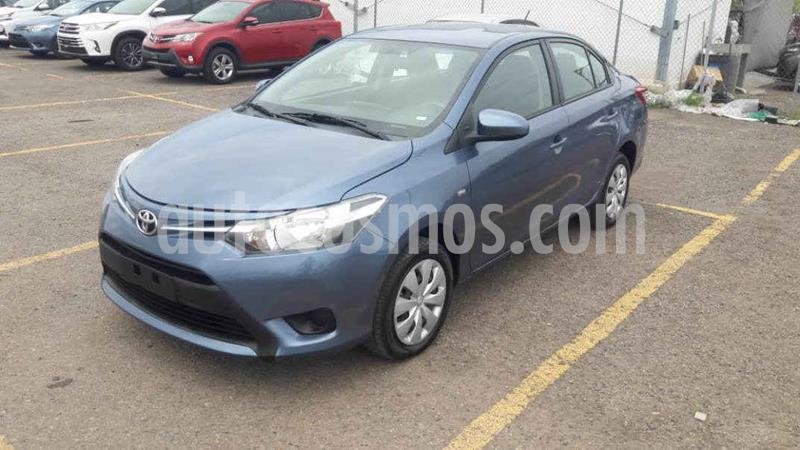 Toyota Yaris Core Aut usado (2017) color Azul precio $194,000