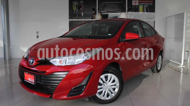 Toyota Yaris Core usado (2019) color Rojo precio $205,000