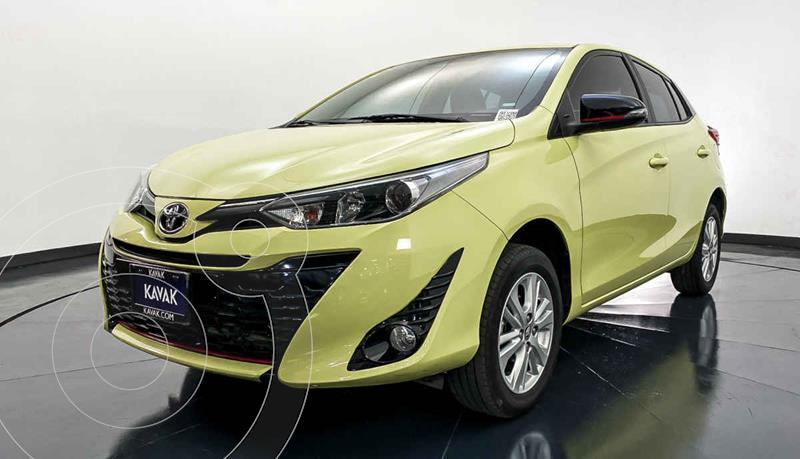 Toyota Yaris 5P 1.5L S Aut usado (2018) color Amarillo precio $224,999