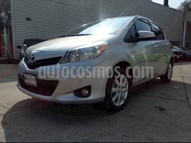 Toyota Yaris 5P 1.5L Premium Aut usado (2013) color Plata precio $139,000