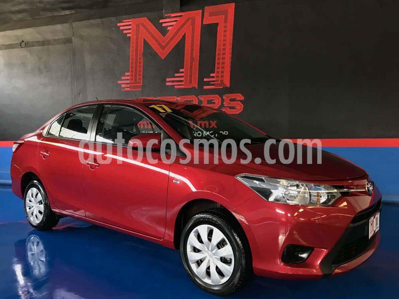 Toyota Yaris Core usado (2017) color Rojo precio $167,000