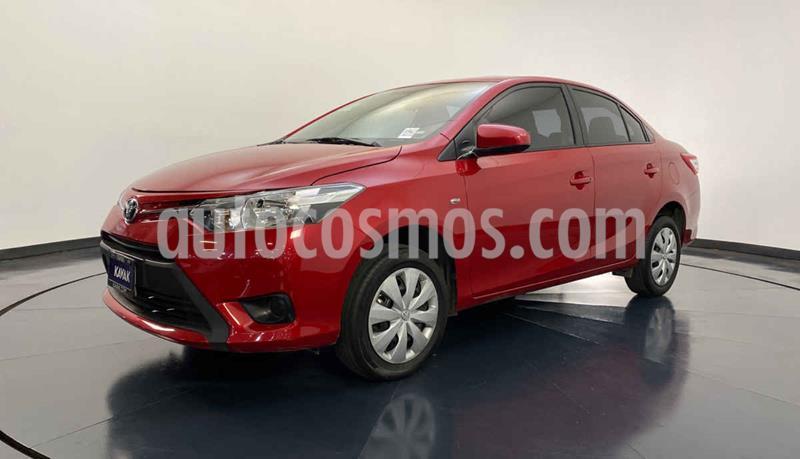 Toyota Yaris Core Aut usado (2017) color Rojo precio $197,999