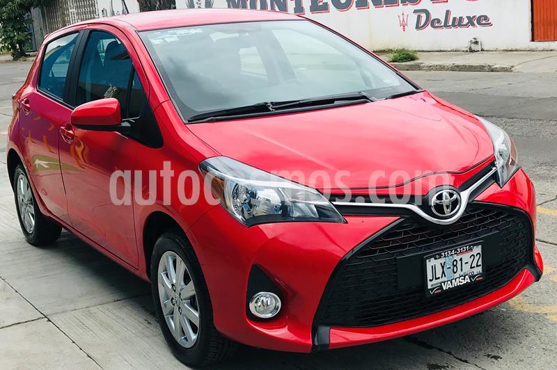 Toyota Yaris 5P 1.5L Premium Aut usado (2015) color Rojo precio $162,000