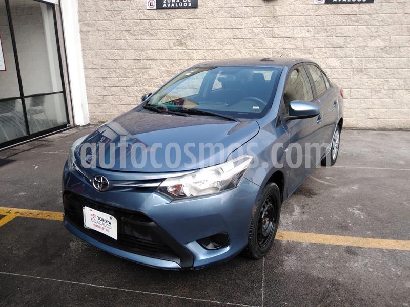 Toyota Yaris 5P 1.5L Core usado (2017) color Azul precio $180,000