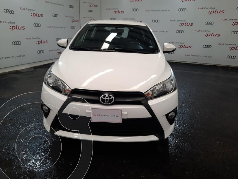 Foto Toyota Yaris 5P 1.5L S usado (2017) color Blanco precio $220,000