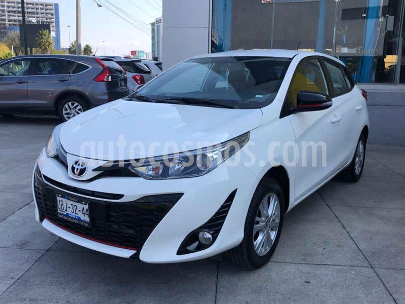 Toyota Yaris 5P 1.5L S Aut usado (2018) color Blanco precio $207,000