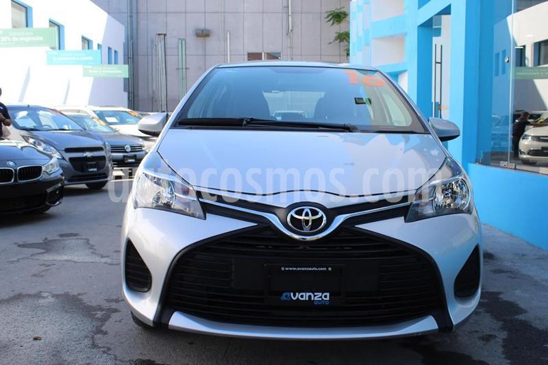 Toyota Yaris 5P 1.5L Core usado (2016) color Gris precio $165,000