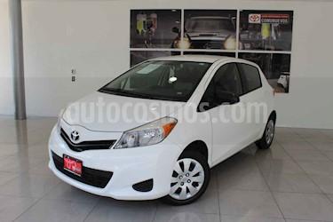 foto Toyota Yaris 5p Hatchback Core L4/1.5 Man usado (2014) color Blanco precio $145,000