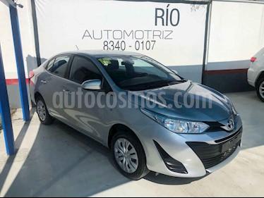 Toyota Yaris Core usado (2019) color Plata precio $218,000
