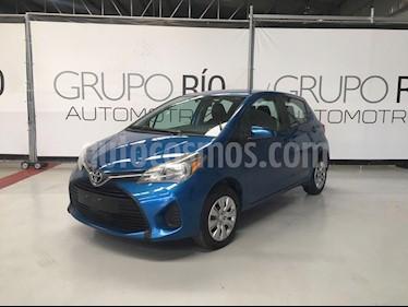 Toyota Yaris 5P 1.5L Core usado (2015) color Azul precio $145,000
