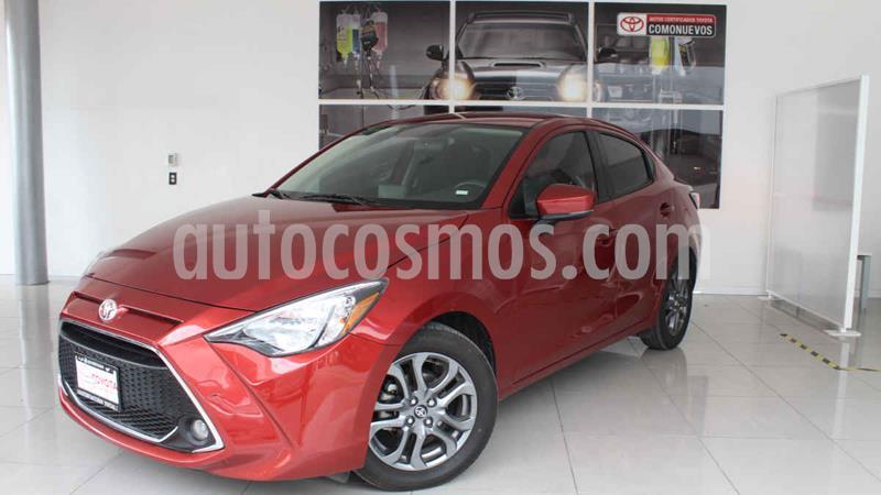 Toyota Yaris XLE Aut usado (2019) color Rojo precio $260,000