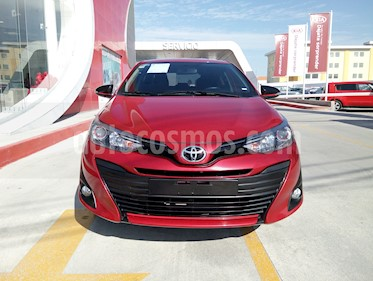 Toyota Yaris 5P 1.5L S Aut usado (2019) color Rojo precio $245,000