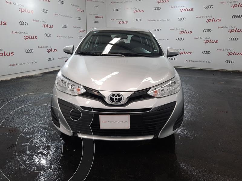 Foto Toyota Yaris 5P 1.5L Core Aut usado (2020) color Plata precio $250,000