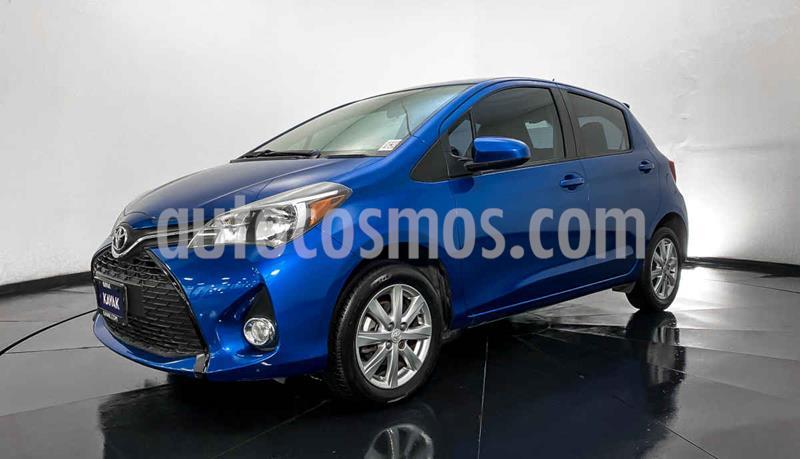 Toyota Yaris Core Aut usado (2015) color Azul precio $174,999