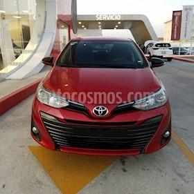 Toyota Yaris 5P 1.5L S Aut usado (2019) color Rojo precio $255,000