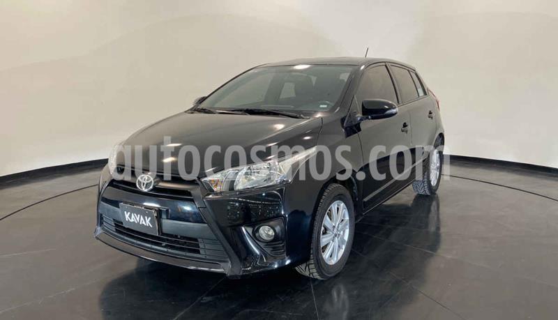 Toyota Yaris LE Aut usado (2017) color Negro precio $209,999