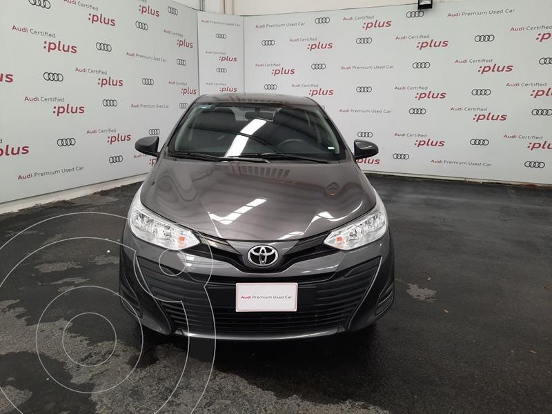 Foto Toyota Yaris 5P 1.5L Core usado (2018) color Gris precio $215,000